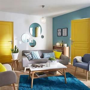 marier les couleurs les 6 pieges a eviter cote maison With bleu turquoise avec quelle couleur 7 peinture 6 couleurs deco pour un salon super chic