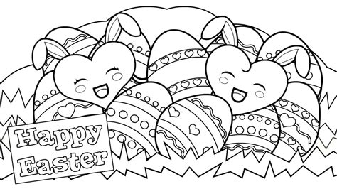 happy easter coloring pages  coloring pages  kids