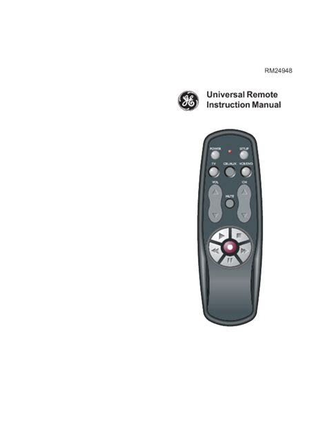 Remote Manual by Universal Remote Users Guides Quot Universal Remote Quot Page 34