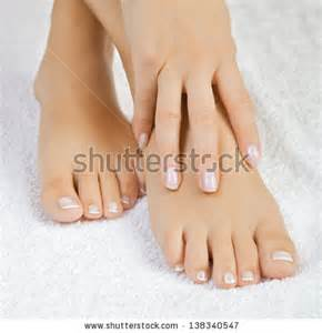 Beautiful Women Feet Pedicure