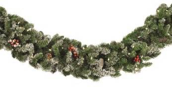 wedding decorations for church decorative garland hawthorne prelit christmas garland
