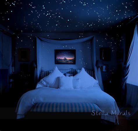 bedroom starry night lights glow in the dark star stickers 200 1000 stickers diy 3d