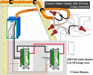 Immersion Water Heater Wiring Diagram