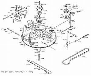 Dixon Ztr 3304  1998  Parts Diagram For Mower Deck