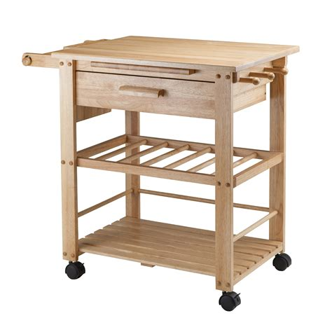 kitchen island cart canada winsome wood 83644 finland kitchen cart lowe 39 s canada