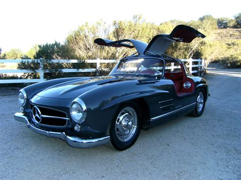 Mercedes Gullwing by Sold 1957 Mercedes 300 Sl Gullwing Grundfor