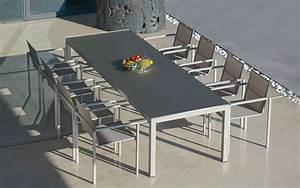 Table Pour Terrasse : tables de jardin et terrasse design terrasse et demeureterrasse et demeure ~ Teatrodelosmanantiales.com Idées de Décoration