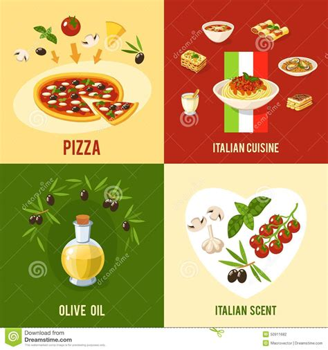 illustration cuisine food design concept stock vector illustration of