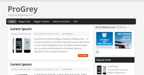 Free Download Premium Blogger Template Top 10