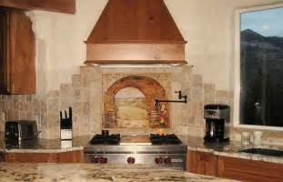 kitchen murals backsplash backsplash tile for kitchen feel the home