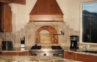 murals for kitchen backsplash backsplash tile for kitchen feel the home