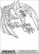 Coloring Skylanders Pages sketch template