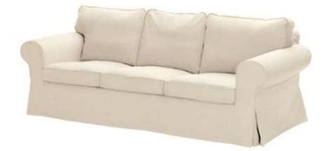 ektorp chair cover idemo beige brand new ikea ektorp 3 seats sofa cover blue white lilac