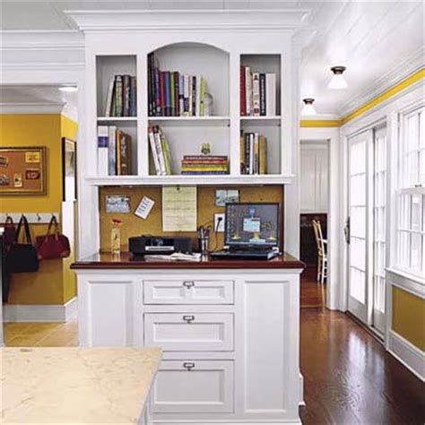 kitchen message center ideas stand up station kitchen office design ideas this old house