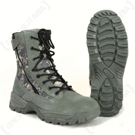 Army Semi Boot digital camo camouflage army boots all sizes ebay