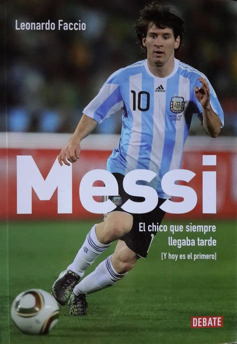 best books on lionel messi