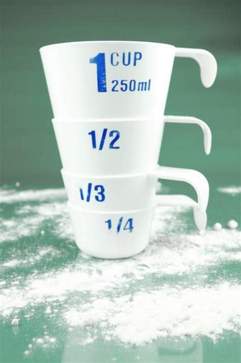 convertisseur de mesure cuisine gramme en tasse mesurer et peser sans balance ou verre doseur esprit santé