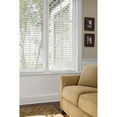 wood blinds walmart better homes and gardens 2 quot faux wood blinds white