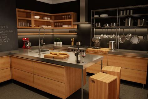 cuisine moderne en bois déco cuisine moderne bois