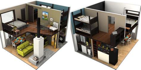 denah rumah mungil unik  inspirasi desain desain