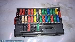 Fuse Box    Electricity Central - Peugeot 406