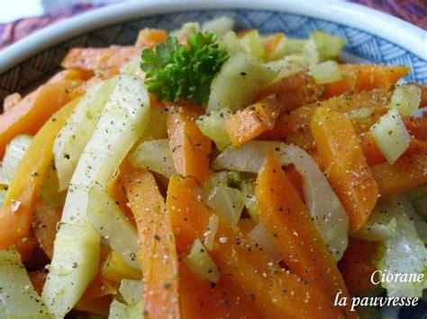 po 234 l 233 e de fenouil et carottes la cuisine de quat sous