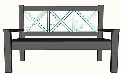 Bench Porch Plans Ana Diy Cabin Lake