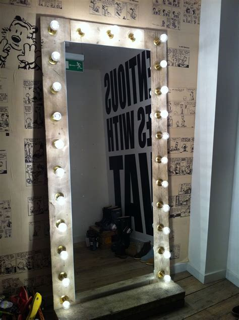 mirror  lights   making
