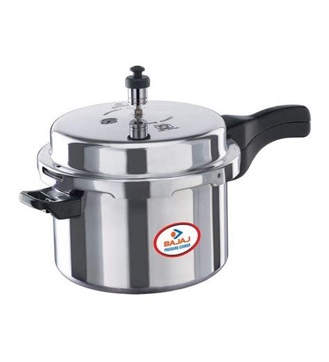 bajaj cooker pressure lid outter aluminium 5ltr pepperfry ltr