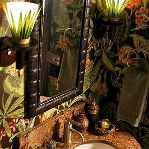 Eclectic, Whimsical, Powder, Room, Design