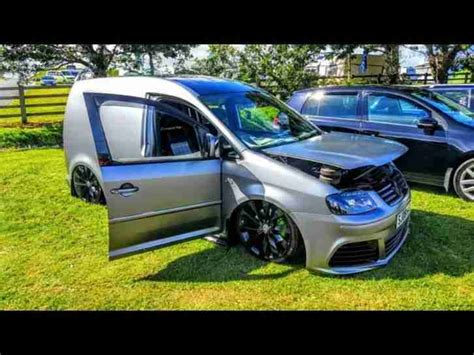 vw caddy camper  air ride tdi  show car custom