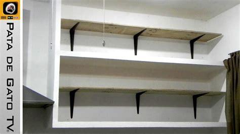 como hacer  instalar repisas build  install shelves