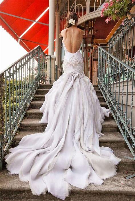 perfect   wedding dresses deer pearl flowers