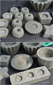 Basteln Mit Zement : beton beton formen muster pinterest beton gie en zement und ganze woche ~ Frokenaadalensverden.com Haus und Dekorationen
