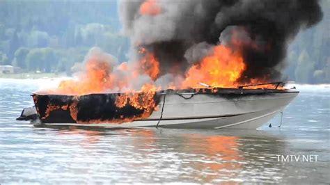 Bc Fire Boat kootenay lake boat fire tmtv news youtube