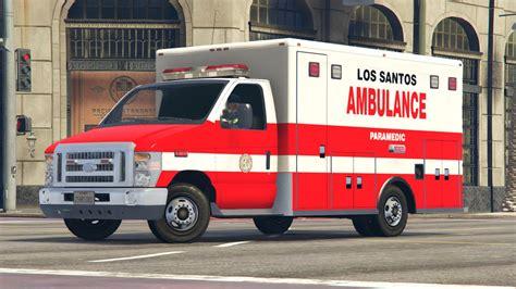 los santos city ambulance paramedic livery ford