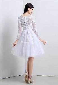 Robe De Mariee Courte : robe de mari e courte dentelle vaporeuse ~ Preciouscoupons.com Idées de Décoration