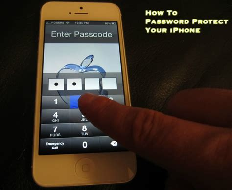 passwords on iphone how to password protect your iphone 5 4s and 4 simple