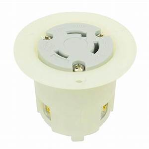 Twist Lock Flange Receptacle 3 Wire 30 Amps 250v Nema L6