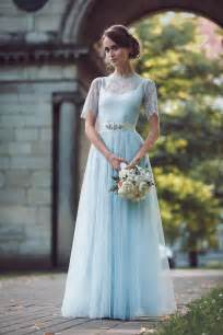 katya katya shehurina my dress uk wedding - Pale Blue Wedding Dress