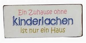 Blechschilder Sprüche Vintage : blechschild ein zuhause ohne kinderlachen ist nur ein ~ Michelbontemps.com Haus und Dekorationen