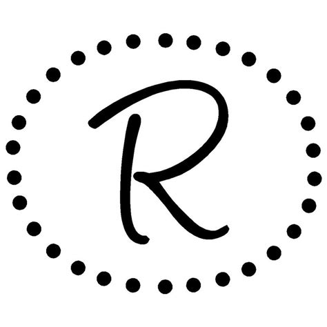 crazy days letter monogram