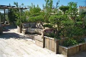 Aménagement Toit Terrasse : toit terrasse paris ~ Melissatoandfro.com Idées de Décoration