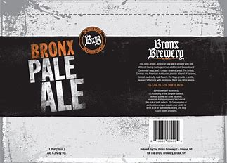 Image result for bronx pale ale