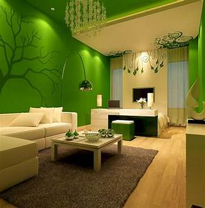 Home, Color, Schemes, Green, And, Brown, U2013, Decoredo