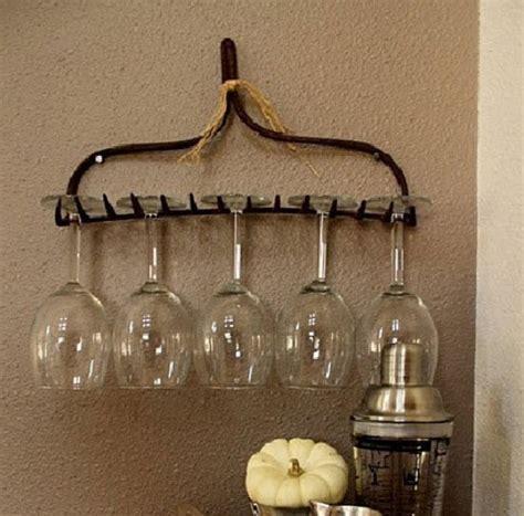 diy wine glass rack easy pinteresting diy home decorating ideas