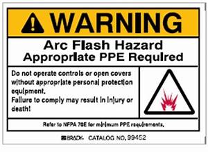 electrical and product safety equipment labeling With arc flash label requirements