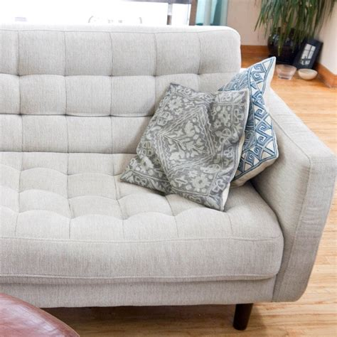 how to clean cloth sofa how to clean a natural fabric couch popsugar smart living