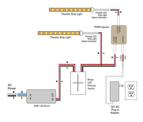 led wiring diagram 12v vlightdeco trading led wiring diagrams for 12v led lighting