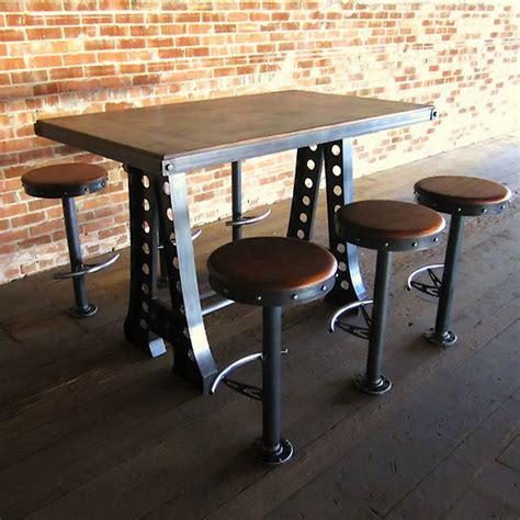 frame dining table vintage industrial furniture